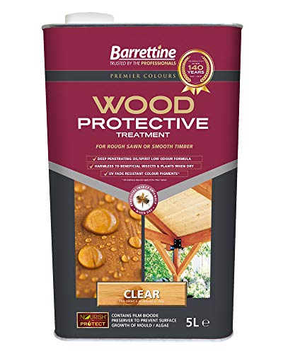 Nourish & Protect PTCL005 Clear 5 L Wood Protective Treatment