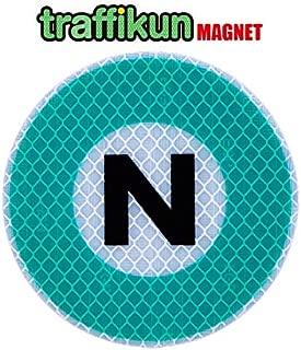 【大蔵製作所】鉄道シリーズ 東京メトロ マグネット ステッカー・南北線 路線マーク