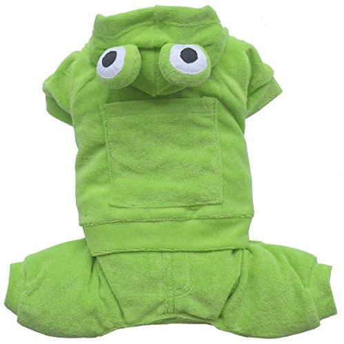 Doggydolly 'Hunde-Jogginganzug Kleid Frosch, grün, S–0,1kg