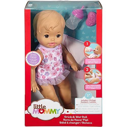 Boneca Little Mommy - Bebê Faz Xixi - Loira - Mattel Fbc88