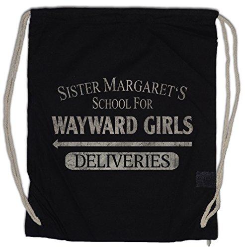 Urban Backwoods Sister MARGATE'S School for Wayward Girls Borsa da Palestra Sportiva Deliveries Deadpool Hellhouse Boarding House