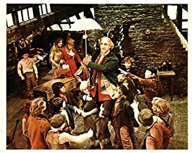 Oliver 8x10 Color Photo Made in 1990's Ron Moody Shani Wallis & Boys in Fagin's