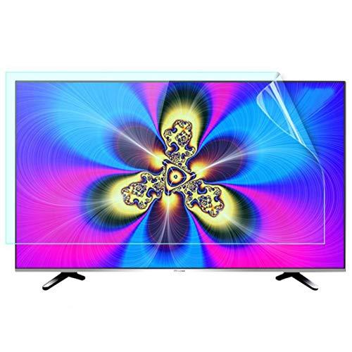ZWYSL Protectores de Pantalla de TV: reducen la radiación Protegen los Ojos Protector de Pantalla con Bloqueo de luz Azul Adecuado para LCD, LED, 4K OLED y QLED y Pantalla Curva