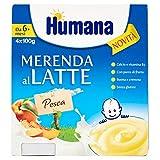 Photo Gallery humana merenda al latte pesca 4 x 100 g