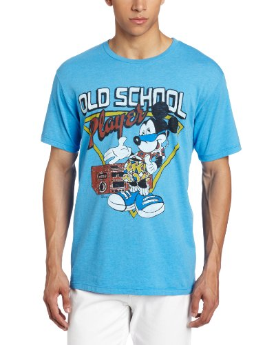 Junk Food T-Shirt Mickey Old School Player Clothing - Taille S