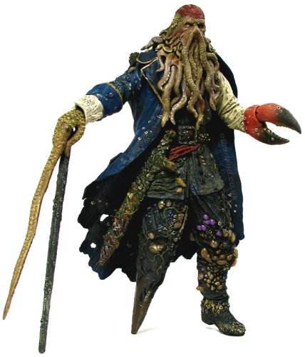 Pirates of the Caribbean 2 Davy Jones 12-Inch Talking Figure by