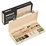 "NEIKO 50493A Rotary Tool Accessory Kit | 228 Piece | 1/8"" Shank Accessories"