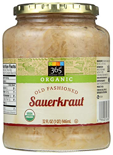365 Everyday Value, Organic Sauerkraut, 32 fl oz