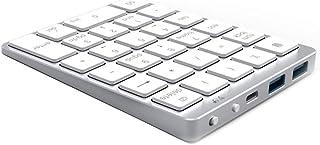 MUDEREK N970 inalámbrico Bluetooth Teclado numérico, con HUB USB Dual Modos Más Teclas de función Mini Teclado numérico fo...