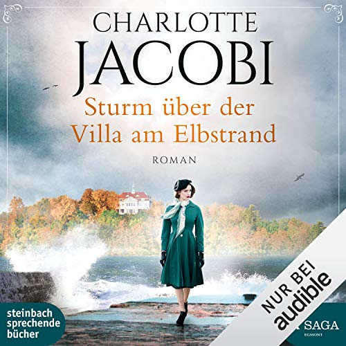 Sturm über der Villa am Elbstrand audiobook cover art