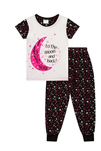 Mädchen Schlafanzug mit Aufschrift