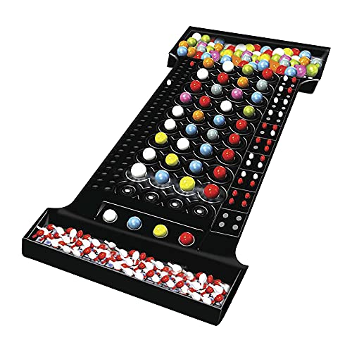 Hasbro Gaming Mastermind the Classic Code Cracking Game for Ages 8 and Up, for 2 Players, Multicolor