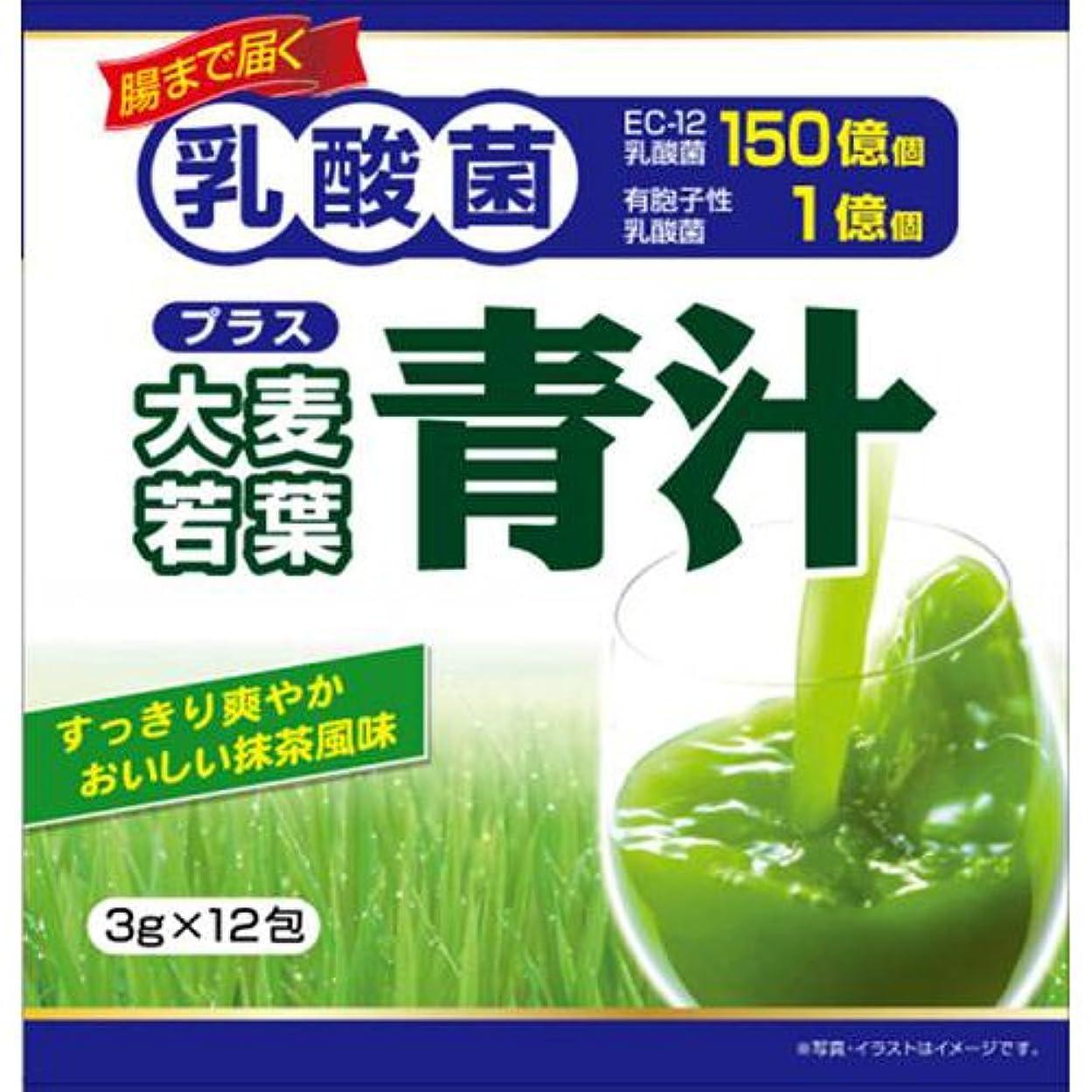 ナイトスポットエイリアス立法ユーワ 乳酸菌プラス大麦若葉青汁 12包