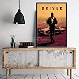 N / A Film Classico Protagonista Personaggi Caldi John Wick Drive Pulp Fiction Regalo Wall Art Decor Pittura Poster Stampe su tela40x60cm