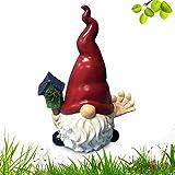Binhe Decoración para el hogar, muñeca mágica, jardín, gnomo, muñeca sin cara, adornos de hada, accesorios de jardín, decoración, figuras de coleccionista en miniatura, gnomo, gnomo, jardin de hada