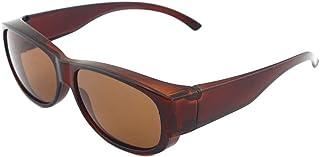 5d44f186bd SHEEN KELLY Gafas de sol polarizadas Fitover para usar sobre gafas  regulares polarización de las gafas