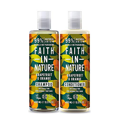 Faith In Nature Grapefruit and Orange Shampoo & Conditioner Duo