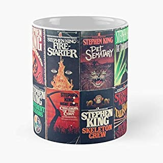 Stephen King Of Horror Genre Books - Coffee Mug Best Gift 11 Oz Father Day