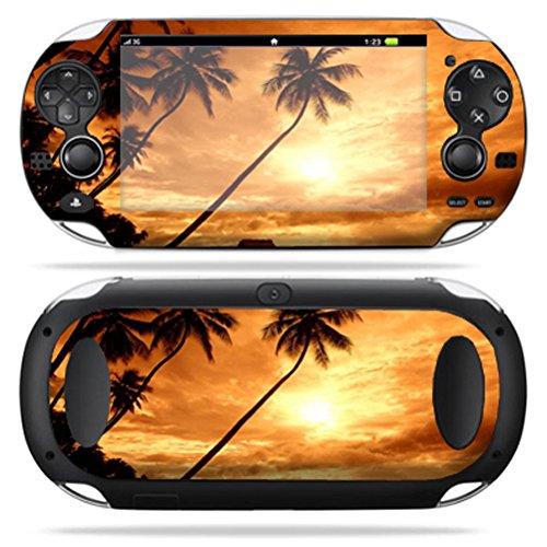 MightySkins Skin Compatible with PS Vita PSVITA Playstation Vita Portable wrap Sticker Skins Sunset