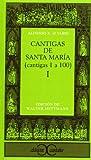 Cantigas de Santa María, I: 134 (CLASICOS CASTALIA. C/C.)