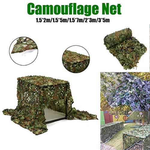 Ocultando Refugio De Camuflaje Neto Camping Jungle Red De Camuflaje Sol, For El Jardín Sombreado Pergola Gazebo Al Aire Libre Toldo Decoración (Verde) (Color : Green, Size : 2x8m/6x26ft)