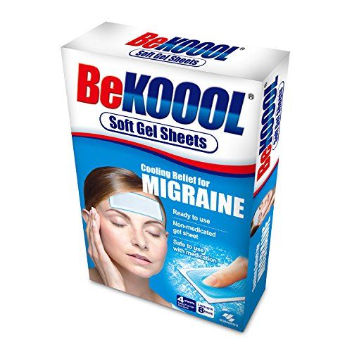 BE KOOOL Soft Gel Sheets Adult 4 CT (Pack of 2)