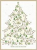 Lauensteiner Adventskalender Nougat - Auslese 1x300g ohne Alkohol
