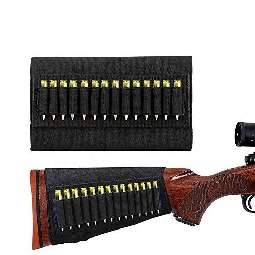 Gexgune Soporte de munición Cartucho Disparo Pistola Cargador para 5.56 mm Bala .22 / .223.204 Pistola Porta Balas Caza Soporte de Bala