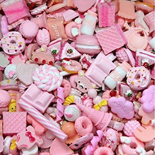 JAGENIE Resin Charms Beads Accessories DIY Phone Shell Jewelry Slime Filler Doll House 2