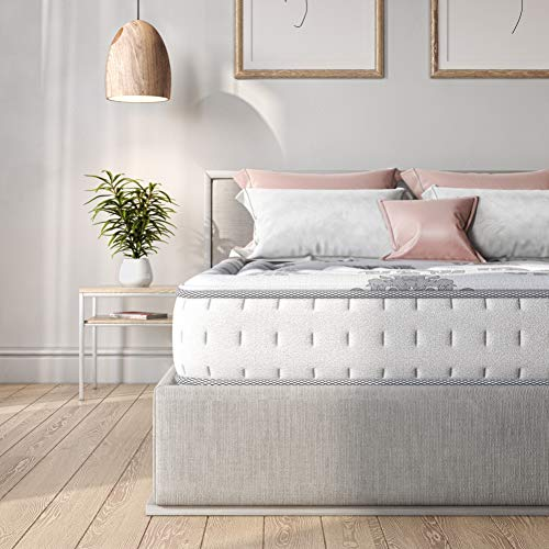 Classic Brands Memory Foam & Innerspring Hybrid Mattress