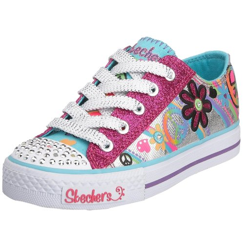 b6f401d27bbc Limited availability Skechers Twinkle Toes S Lights Groovy Baby Lighted  Sneaker (Little Kid Big Kid)