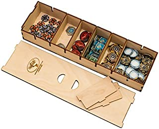 The Broken Token Long Bits Box for Sleeved Card Game Organizer