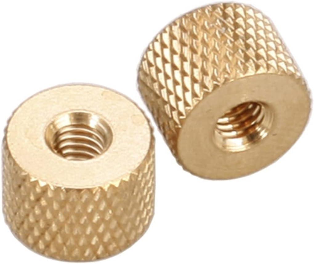 LWCHJ M2 2.5 3 mart 4 Max 79% OFF Nut Knurled Brass P Thumb