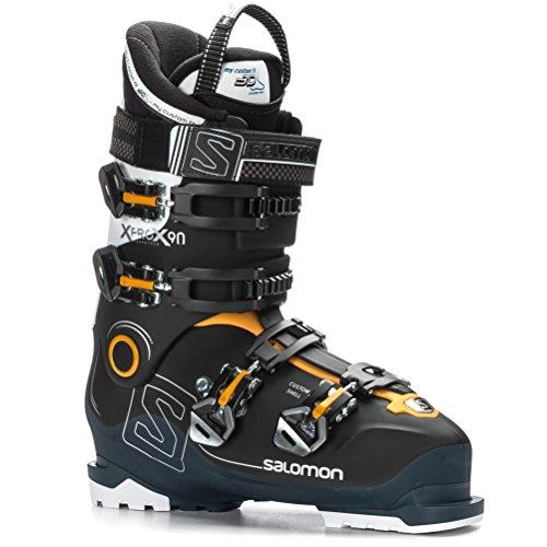 SALOMON Herren Ski-Stiefel X Pro X90 CS Skistiefel, Schwarz/Blau/Weiss, 28