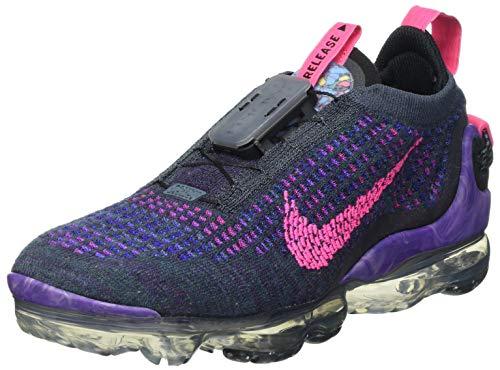 Nike W Air Vapormax 2020 FK, Zapatillas para Correr Mujer, Dk Raisin Pink Blast Black Blue Fox Concord Fireberry, 40.5 EU