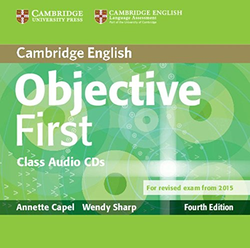 Objective First Class Audio CDs (2) Fourth Edition