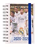 Grupo Erik ADPS2013 - Agenda escolar 2020/2021 día página S Real Madrid, 11 meses (11,4x16 cm)