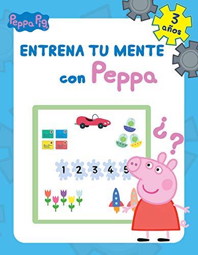 Entrena tu mente con Peppa. 3 años (Peppa Pig. Cuaderno de actividades) 🔥