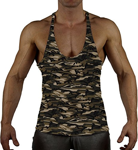 99GYM Version2 MOSTMUSCULAR Cut Bodybuilding Fitness Stringer in 14 kleuren Muscle Shirt