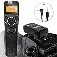 Pixel TW-283 E3 Wireless Shutter Release Cable Wired Remote Control for Canon XT XTi XS XSi T1i T2i T3 T3i T4i T5 T5i T6i SL1 EOS1300D 300D 60D 60Da 70D 80D