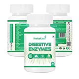 Herballeaf Digestive Enzymes | New formula Now with Resveratrol | Aloe | Senna | 18 All Natural...