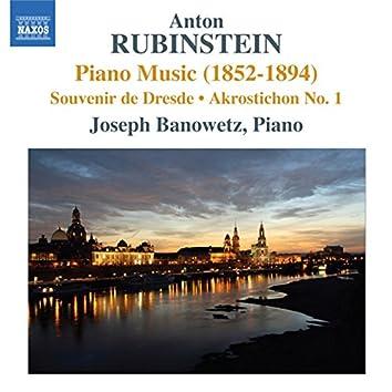 Rubinstein: Piano Music (1852-1894)