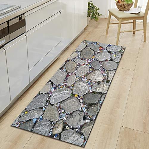 OPLJ Alfombrilla de Cocina para sofá, Alfombra de baño, Alfombra de baño, Juego de alfombras y alfombras de baño, Juego de alfombras de baño A1 40x120cm