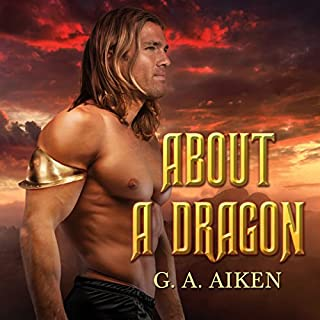 About a Dragon audiobook cover art