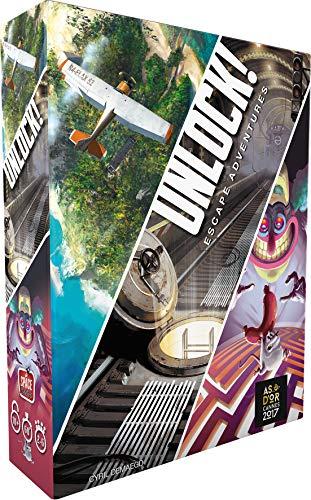 Unlock! Escape Adventures Asmodee - Juego de Mesa