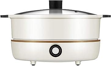 YFGQBCP Fondue Electrique Le feu élevé Hot Pot Cooker intégré Pot, Ménage Multifonctionnel Cuisinière électrique, Stepless...