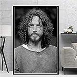 Amrzxz 1000 Piezas de Rompecabezas『Sunshine Male Singer-Chris Cornell』Juguete de desafío Mental