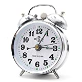 Best Windup Alarm Clocks - Besplore Old Fashioned Double Bell Mechanical Wind Alarm Review