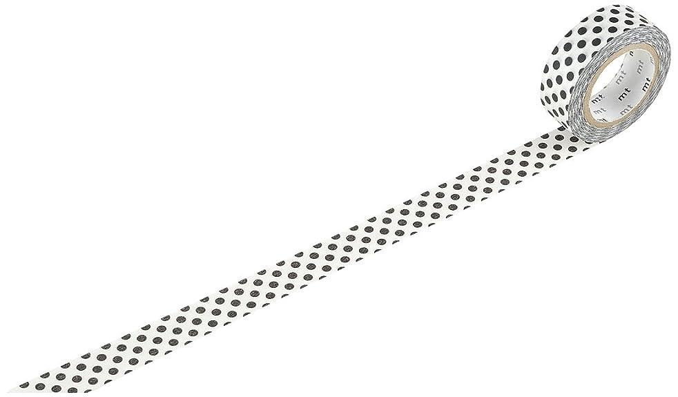 MTWashi Tape MT01D152Z Japanese Washi Masking Tape, Black