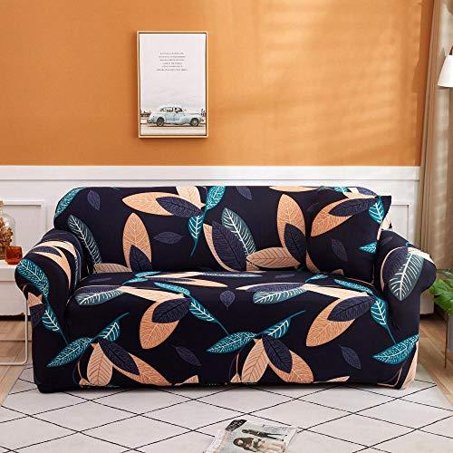 Funda elástica para sofá Fundas de sofá de Esquina de 2 plazas Fundas de sofá universales para Sala de Estar, Funda de sofá elástica Toalla Funda de sofá de Esquina 145-185cm T